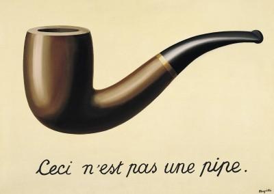 MAGRITTE, René. A traição das imagens, 1928-29.