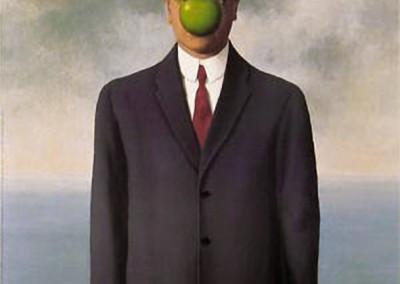 Magritte, René. O filho do homem, 1960.