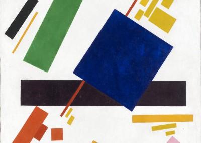 Malevich, Kasimir. Composição suprematista, 1916.