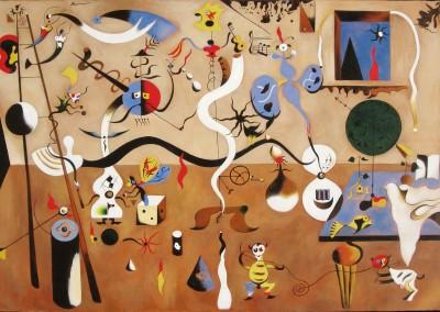 Miró, Juan. Carnaval do Arlequim, 1924-1925.