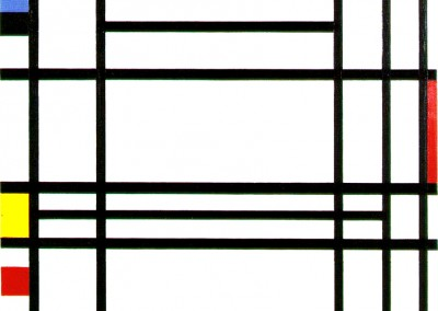 Mondriaan, Piet. Composição 10, 1939-1942.