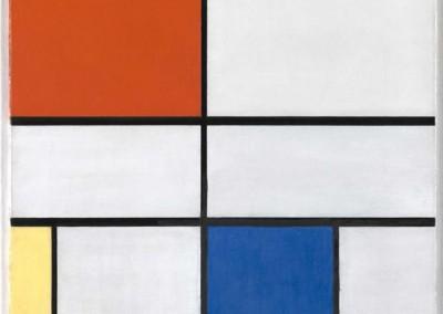 Mondrian, Piet. Composição 3, 1921.