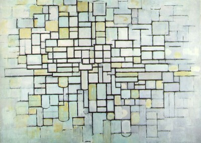 Mondrian, Piet. Linha e cor, 1919.