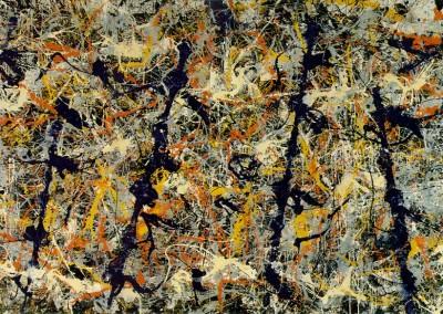 Pollock, Jackson. Blue poles number 11.