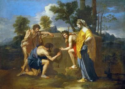 Poussin, Nicolas. Et in Arcadia ego, 1630.