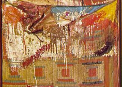 Rauschenberg, Robert. Cama, 1955
