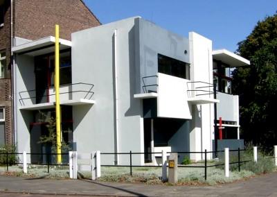 Ritveld, Gerrit.Casa Schoeder, Utrecht, 1924.