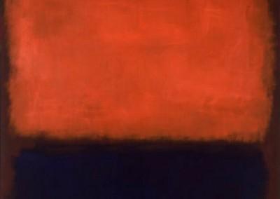 Rothko, Mark. Número 14,1960.