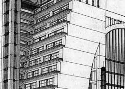 Santelia,Antonio. Projeto para uma cidade, 1914.