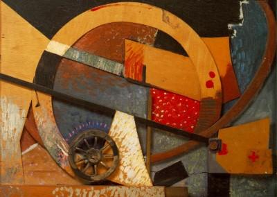 Scwitters, Kurt. Colagem, 1924.