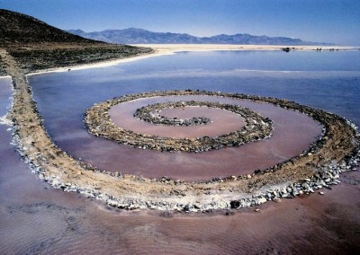 Smithson, Robert. Spiral-jetty, 1970.