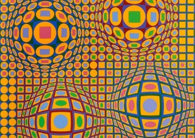 Vasarely, Victor. Quadrature, s.d.