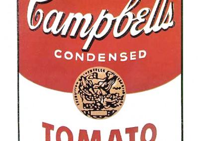 Warhol, Andy. Lata de sopa Campbell, 1965.